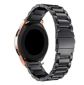 SUPORE Galaxy Watch 42mm Acero Inoxidable Banda, Gear S2 Classic ...
