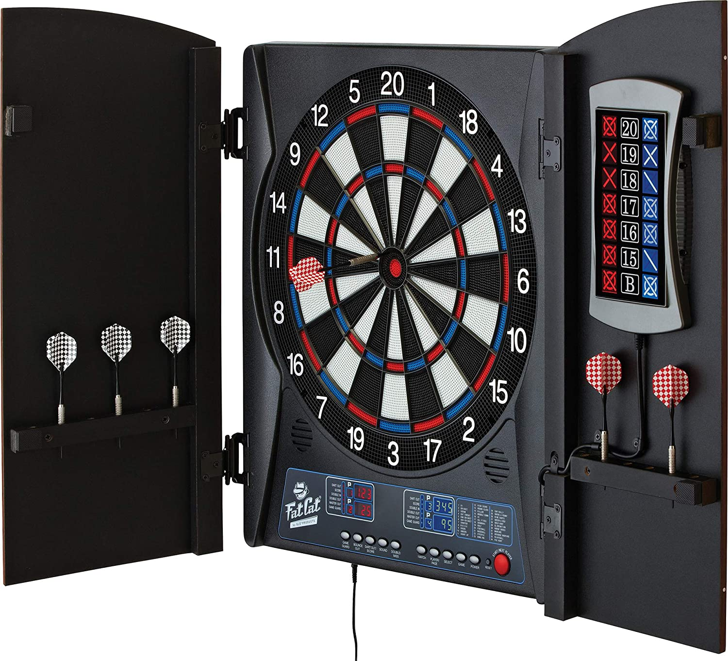 Fat Cat Mercury Electronic Dart Board