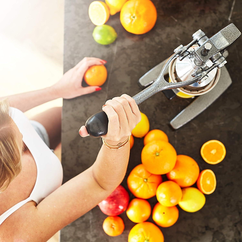 Compra Lumaland - exprimidor de fruta profesional exprimidor de zumo a mano de alta calidad en Amazon.es