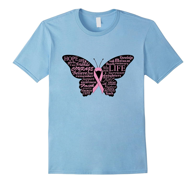 breast cancer awareness tshirt survivor hope fight curet