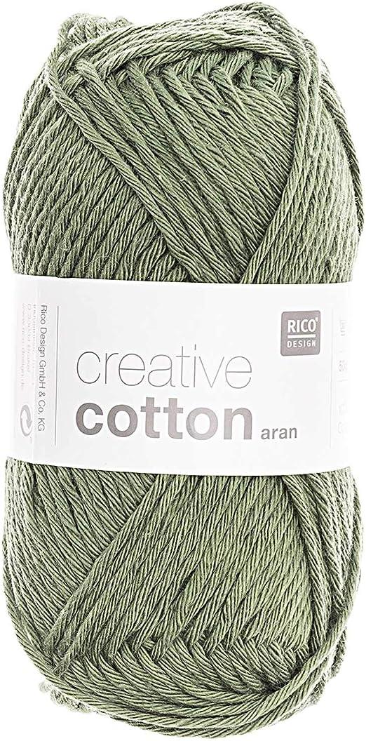 Rico Creative Cotton Aran FB. Hilo de algodón para Punto y ...
