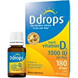 Ddrops 1000IU (5mL), 180-drops Box