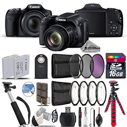 Amazon com : Canon PowerShot SX530 HS Digital Camera