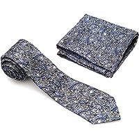 Vibhavari Men's Tie and Pocket Square