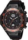 Gio Collection Analog Black Dial Men's Watch - AD-0051-C