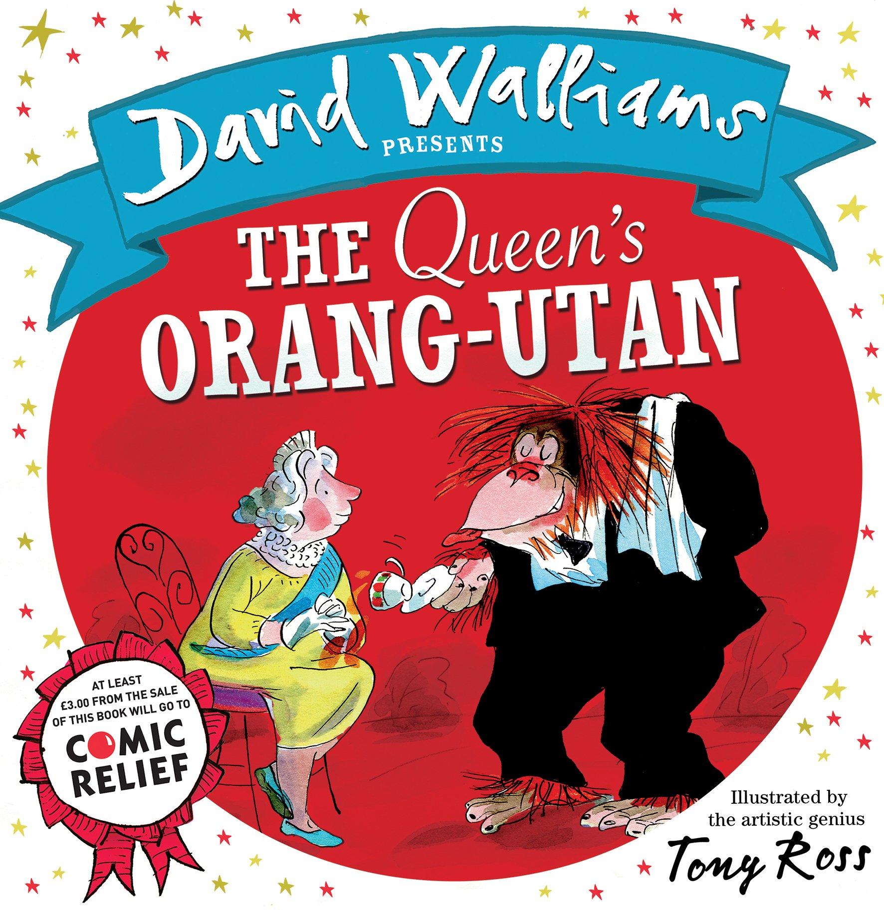 The Queen's Orang-Utan (Comic Relief): Amazon.co.uk: David ...