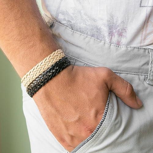 Men/'s leather Bracelet Husband Gift Men/'s Bracelet Boyfriend Gift Guys Jewelry Men/'s Jewelry Gift For Him Men/'s Gift