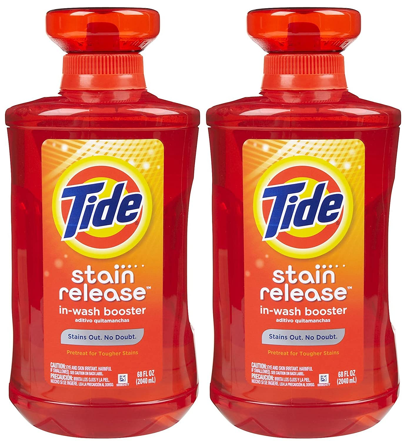 Amazon.com: Tide Stain Release Liquid In-Wash Booster, 68 oz-2 pack: Health & Personal Care