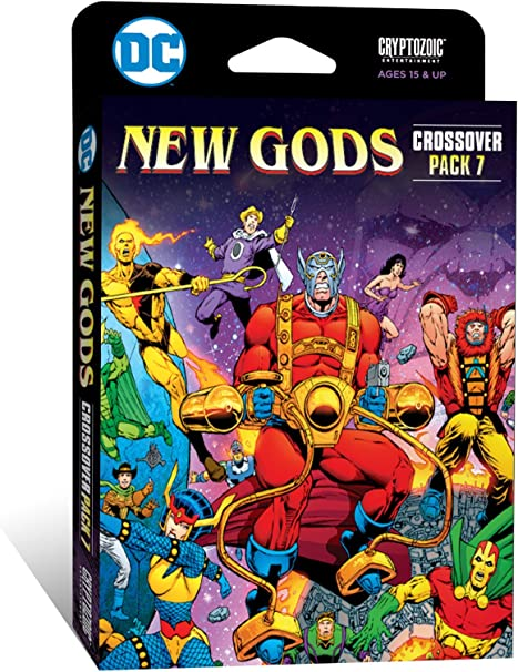 Asmodee CZE02644 New Gods: DC Comics DBG Crossover Pack 7 ...