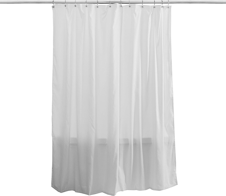 Splash Home Hydro Waterproof Shower Curtain Liner, White