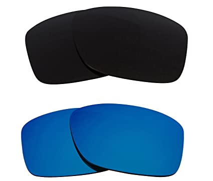 91da4bf889 Image Unavailable. Image not available for. Colour  Best SEEK Replacement  Lenses for Oakley JUPITER SQUARED Black Blue Mirror