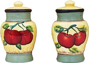 Salt & Pepper Set of 2, Apple on Branch, 85328 by ACK