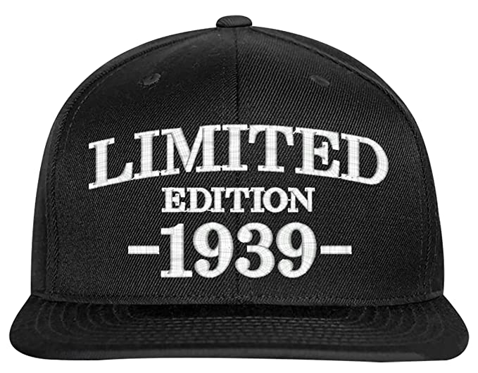 SNBCK 1939 80th Birthday Gifts Limited Edition All Original Parts Snapback Hat