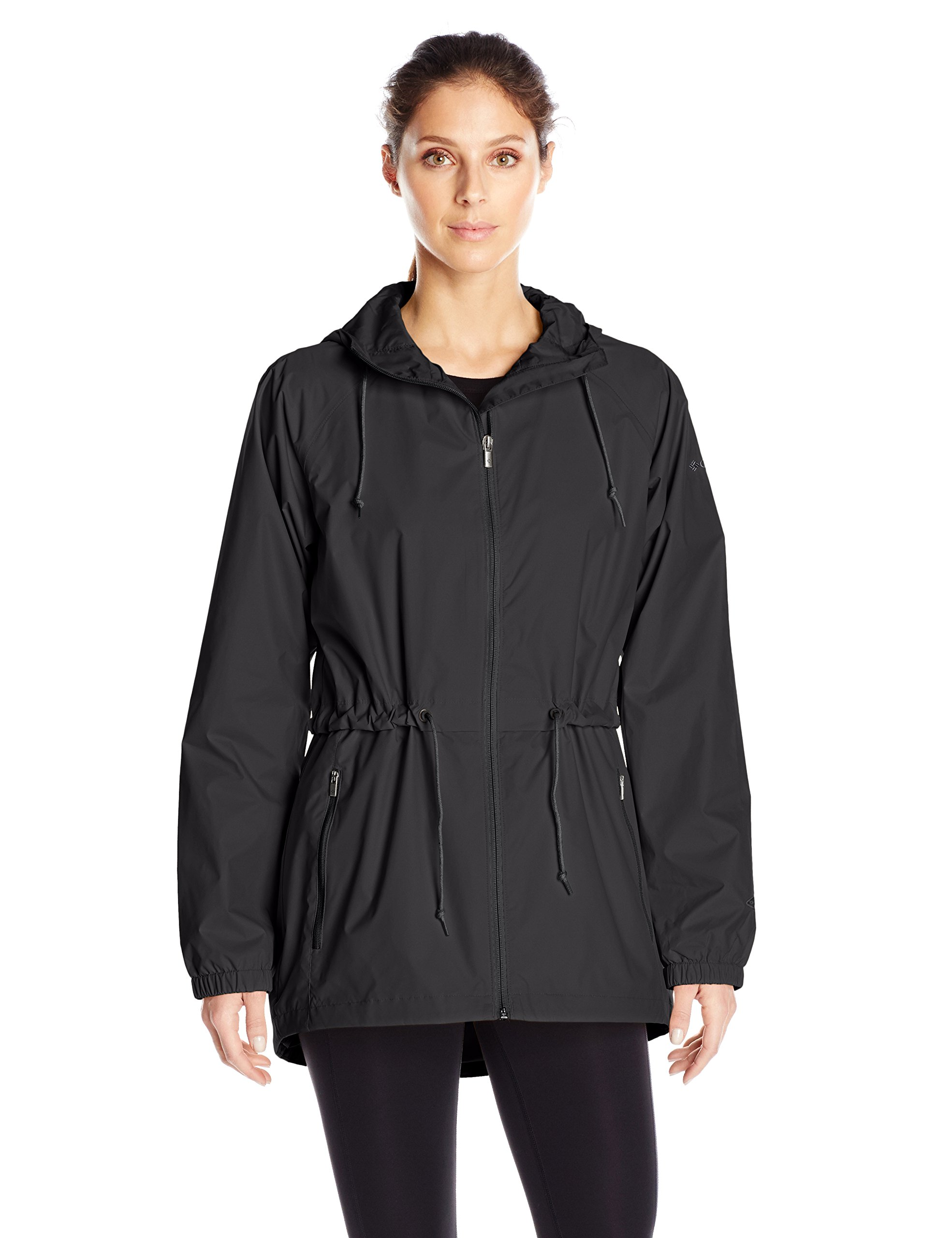 Columbia Women's Arcadia Casual Jacket Outerwear, Black, L