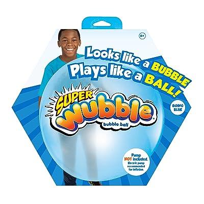 Wubble Super NS20166.4390 Bubble Ball, Blue: Toys & Games