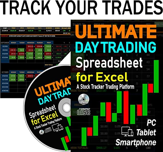 Amazon com: ULTIMATE Day Trading Spreadsheet for Excel  A Stock