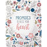 Promises to Bless Your Heart Inspirational Coloring Book for Adults and Teens with Scripture