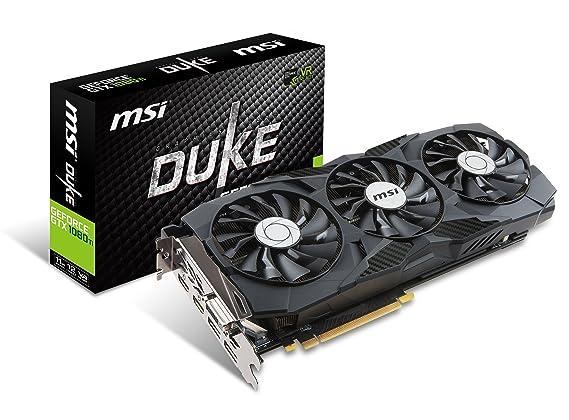 Amazon.com: MSI Gaming GeForce GTX 1080 Ti 11GB GDRR5X DirectX 12 352-bit VR Ready Graphics Card (GTX 1080 TI Duke 11G OC) (Certified Refurbished): ...