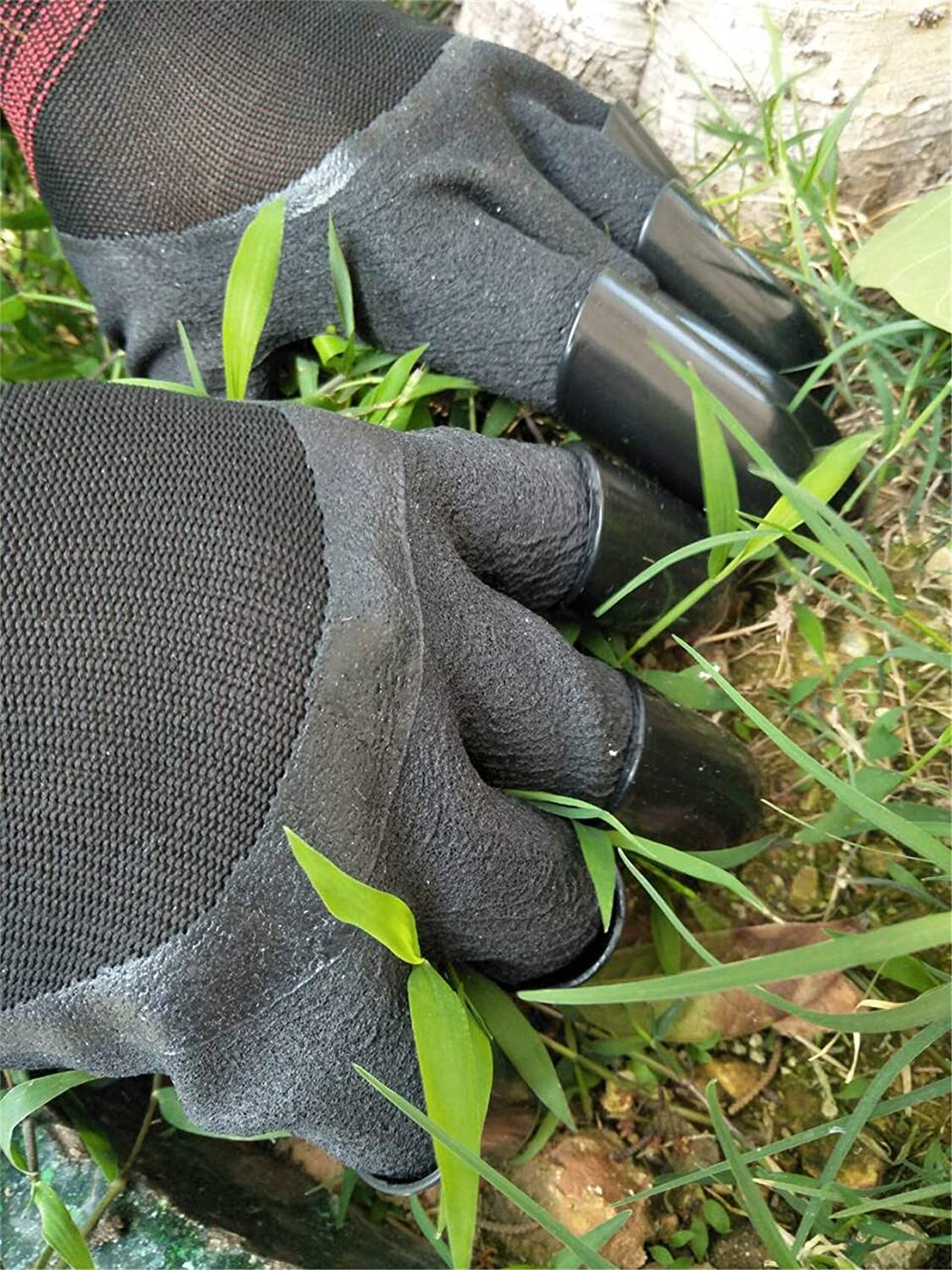 Home Gardening Genie Gloves Quick /& Easy to Dig and Plant Nursery Plants,Best Gift for Gardener FuXing Garden Gloves with Claws