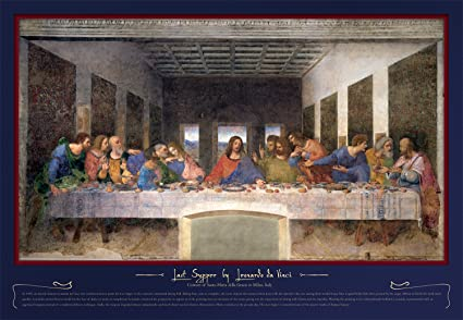 Amazon Com Buffalo Games 2000 Piece Jigsaw Puzzle The Last Supper Toys Games