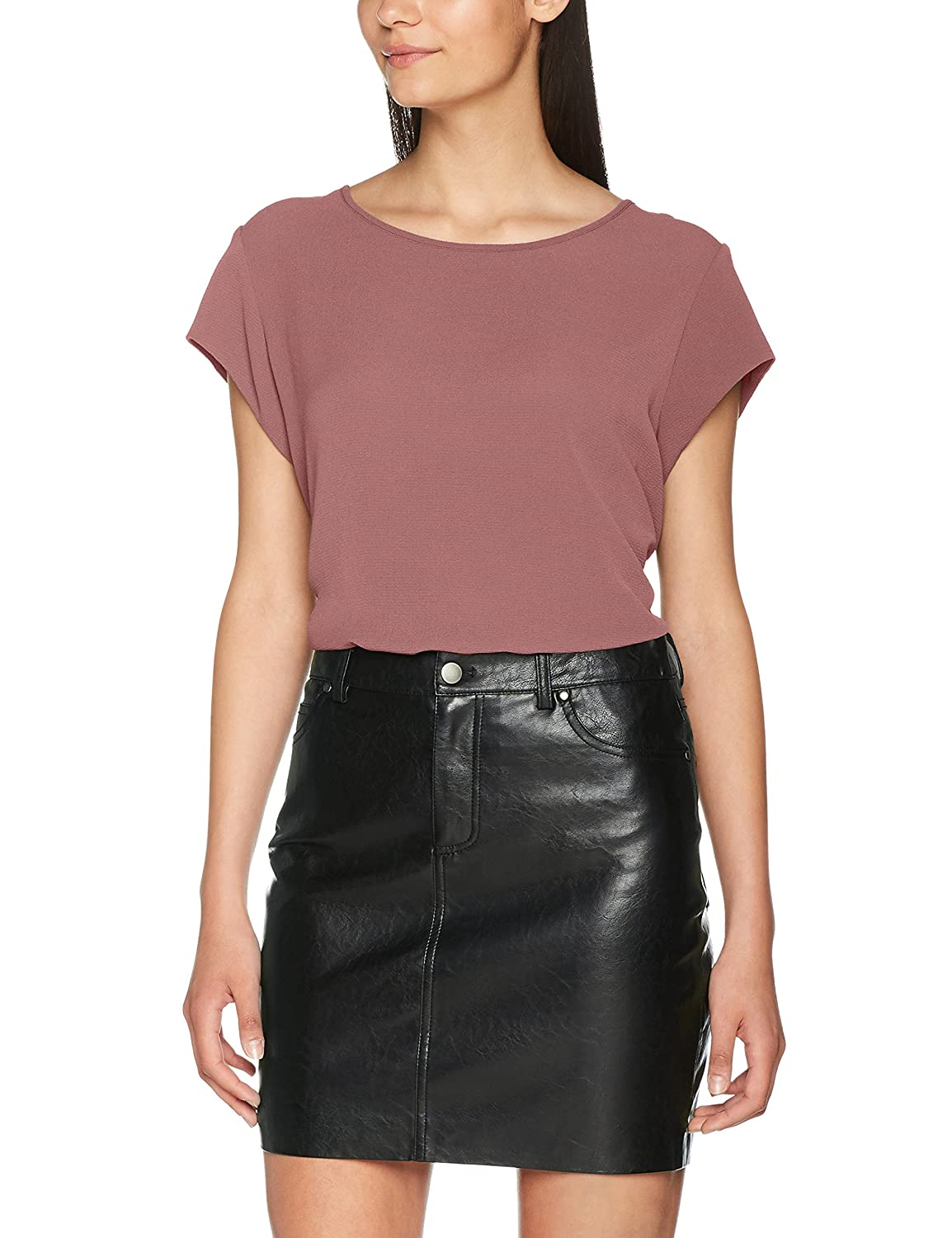 T-Shirt Donna Only Onlvic S//S Solid Top Noos Wvn