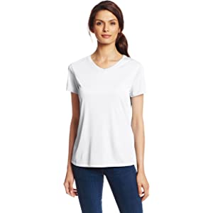 6352c733 Hanes Sport Women's Cool DRI Performance V-Neck Tee