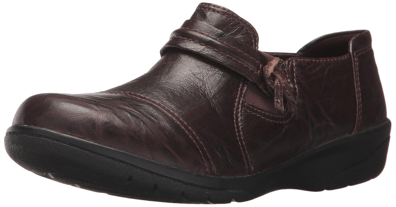 CLARKS Women's Cheyn Madi Loafer B01N9FZUX2 7 B(M) US Dark Brown Scrunch Leather