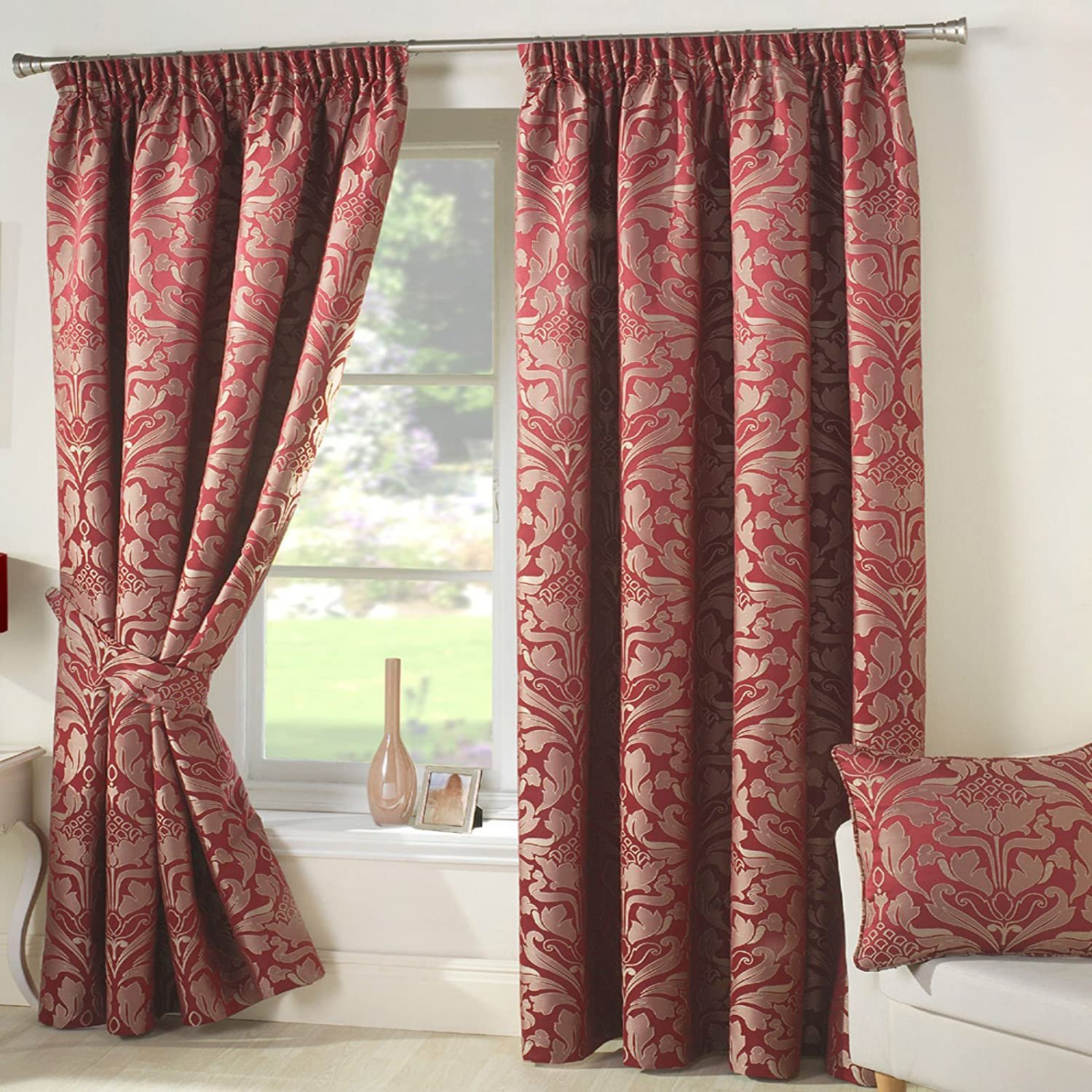 fringegold curtains and curtaintains drapes window touch inspirations curtain class of gold kitchentainsblacktainscurtains velvet sensational red pictures