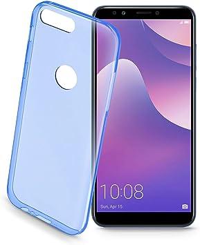 cellularline COLORCY718B Funda para teléfono móvil Bumper Azul ...