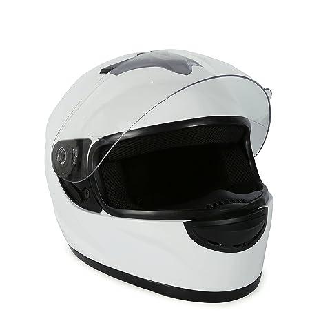 Amazon.com: Casco de motocicleta de cara completa aprobado ...