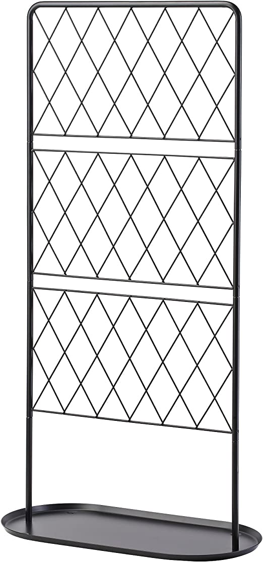 Ikea enrejado con base Rank ayuda para ventana metal negro: Amazon ...
