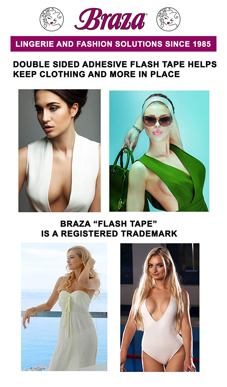 945cb1afa8672 Amazon.com  Braza Flash Tape  Beauty