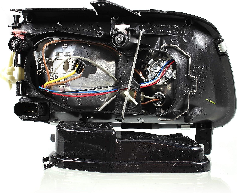 Scheinwerfer Set 6N2 Bj LWR 10.99-10.01 H7+H1 f/ür elektr