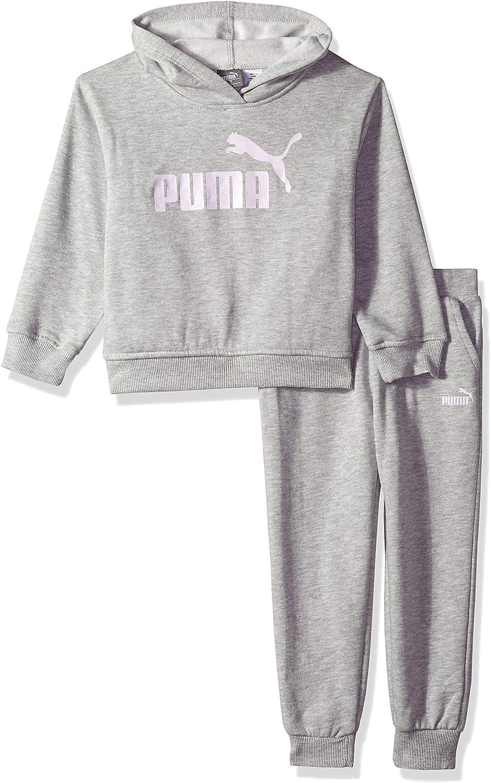 PUMA Girls Girls Fleece Hoodie Set Sweatsuit