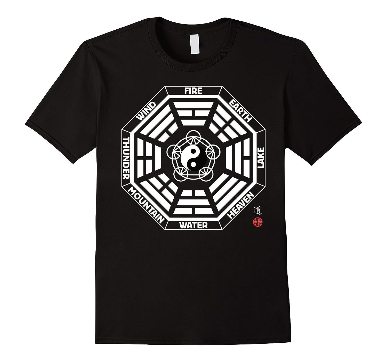 Tai Chi Bagua King Wen Yin Yang 5 Elements T Shirt-Vaci