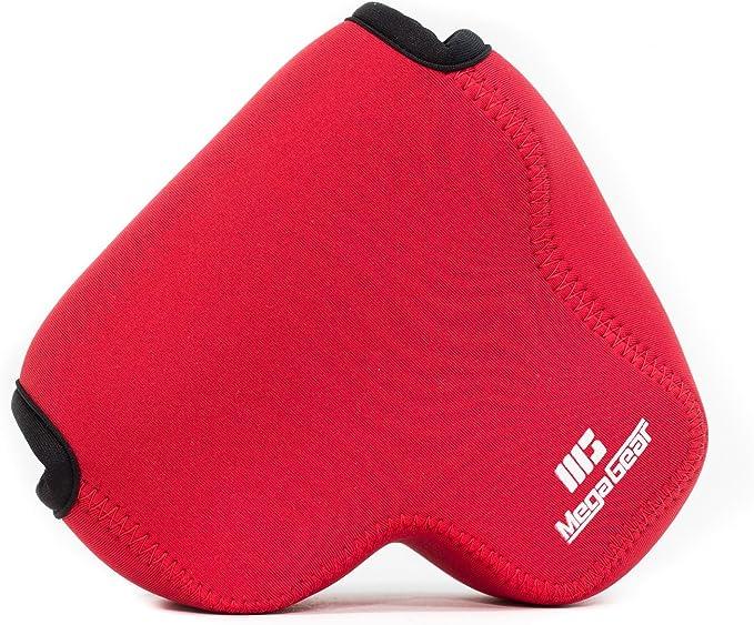 Megagear Ultraleichte Kameratasche Aus Neopren Kompatibel Mit Panasonic Lumix Dc Fz82 Dc Fz70 Fz72
