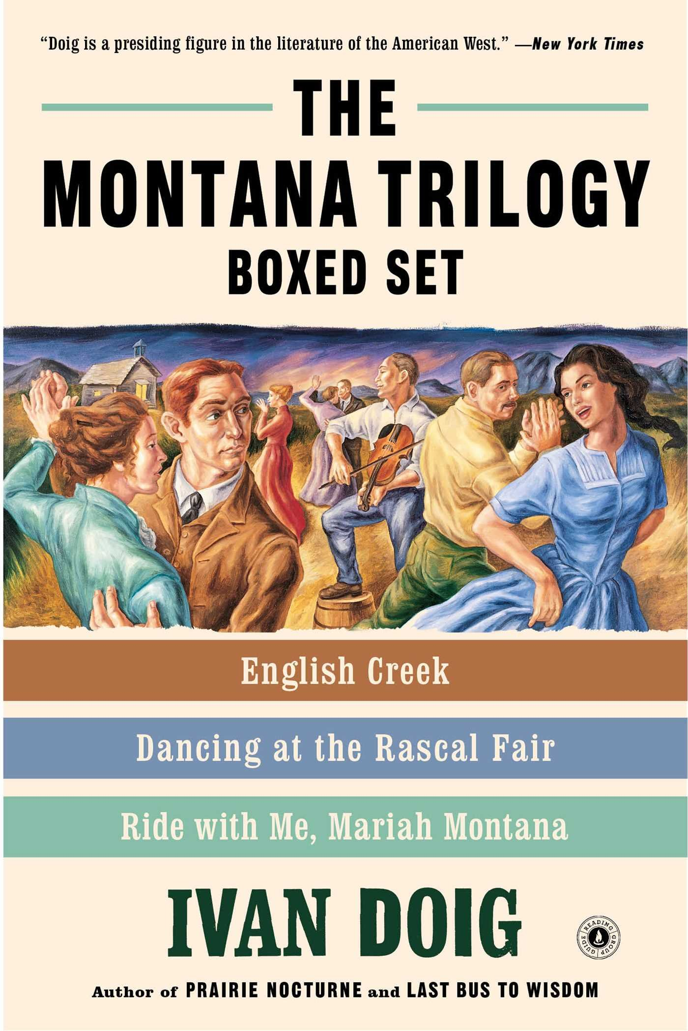 The Montana Trilogy Boxed Set: English Creek, Dancing at the Rascal Fair, and Ride With Me, Mariah Montana PDF