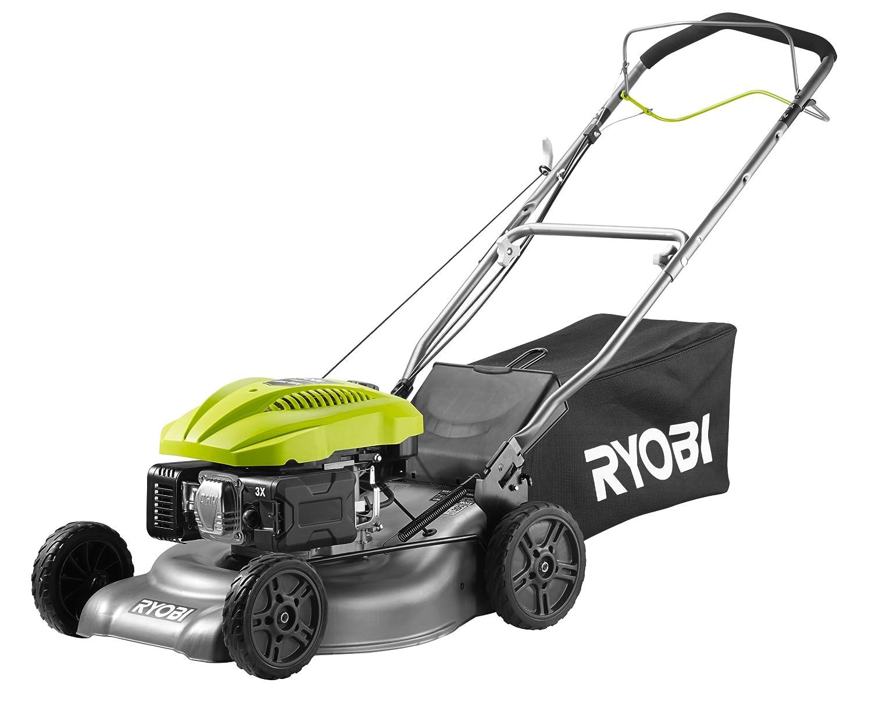 Ryobi RLM4614 - Cortacésped de gasolina (140 cc, 46 cm), color ...