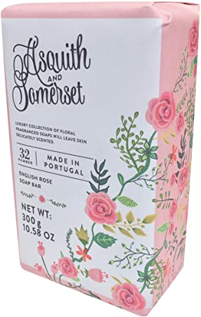 Amazon.com : Asquith & Somerset Lily of the Valley Moisturizing Triple Milled Soap 10.5 Oz : Beauty