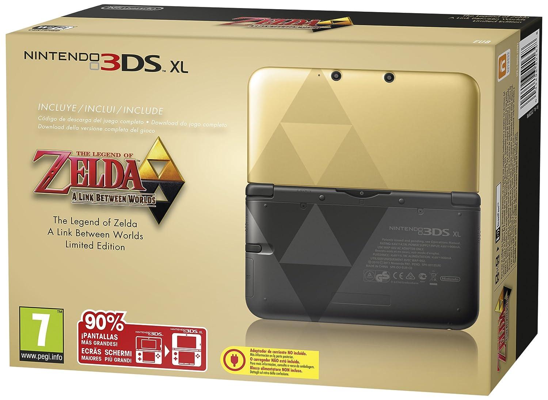 Nintendo 3ds Xl + Zelda - a Link Between Worlds [Importación ...