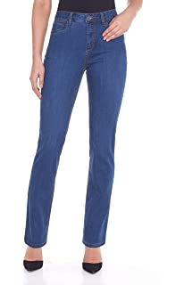 French Dressing Jeans FDJ Suzanne Straight Leg Petite Jeans Style# 8459002