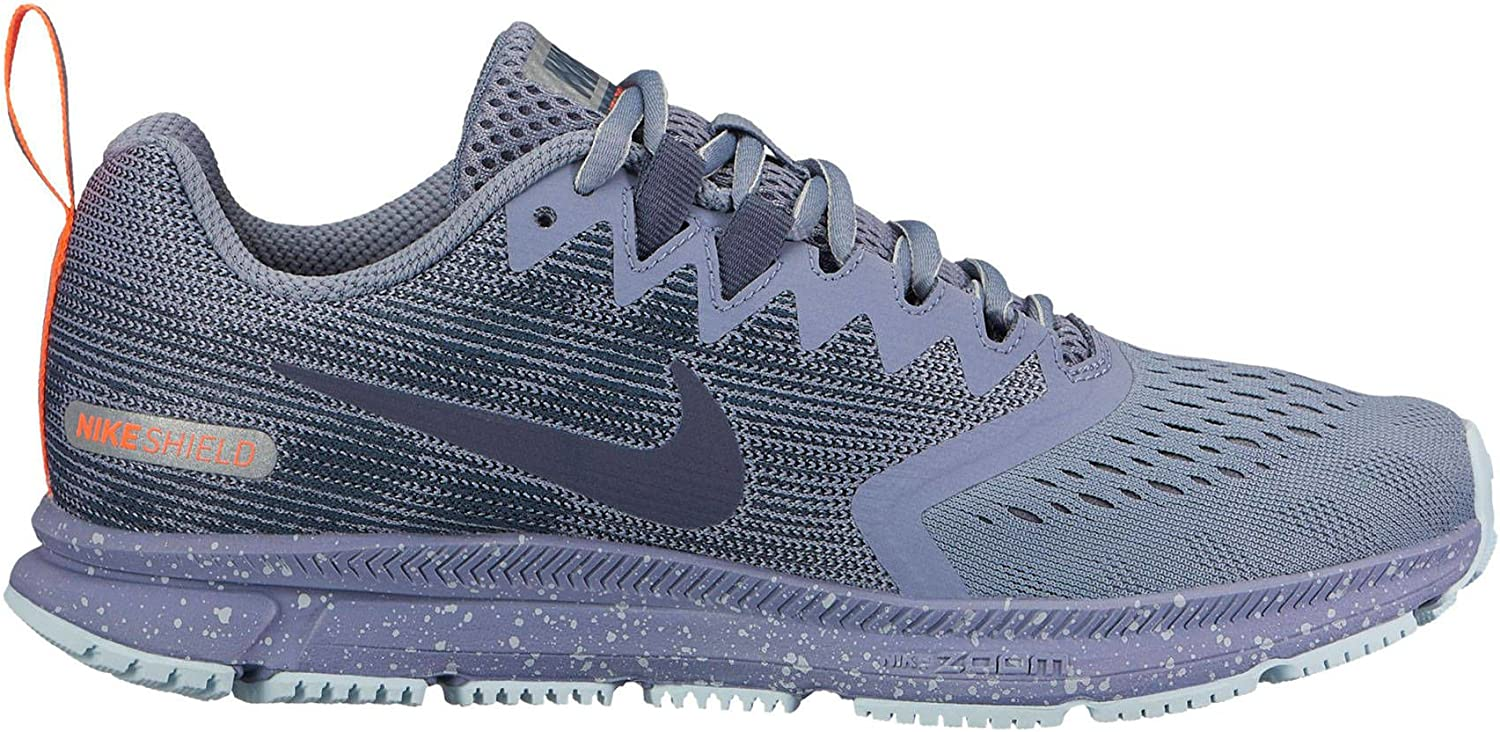 forma Posible autobiografía  Nike Womens Air Zoom Span 2 Shield Running Shoe - UK 7.5, DARK SKY BLUE/THUNDER  BLUE-GLA: Amazon.co.uk: Shoes & Bags