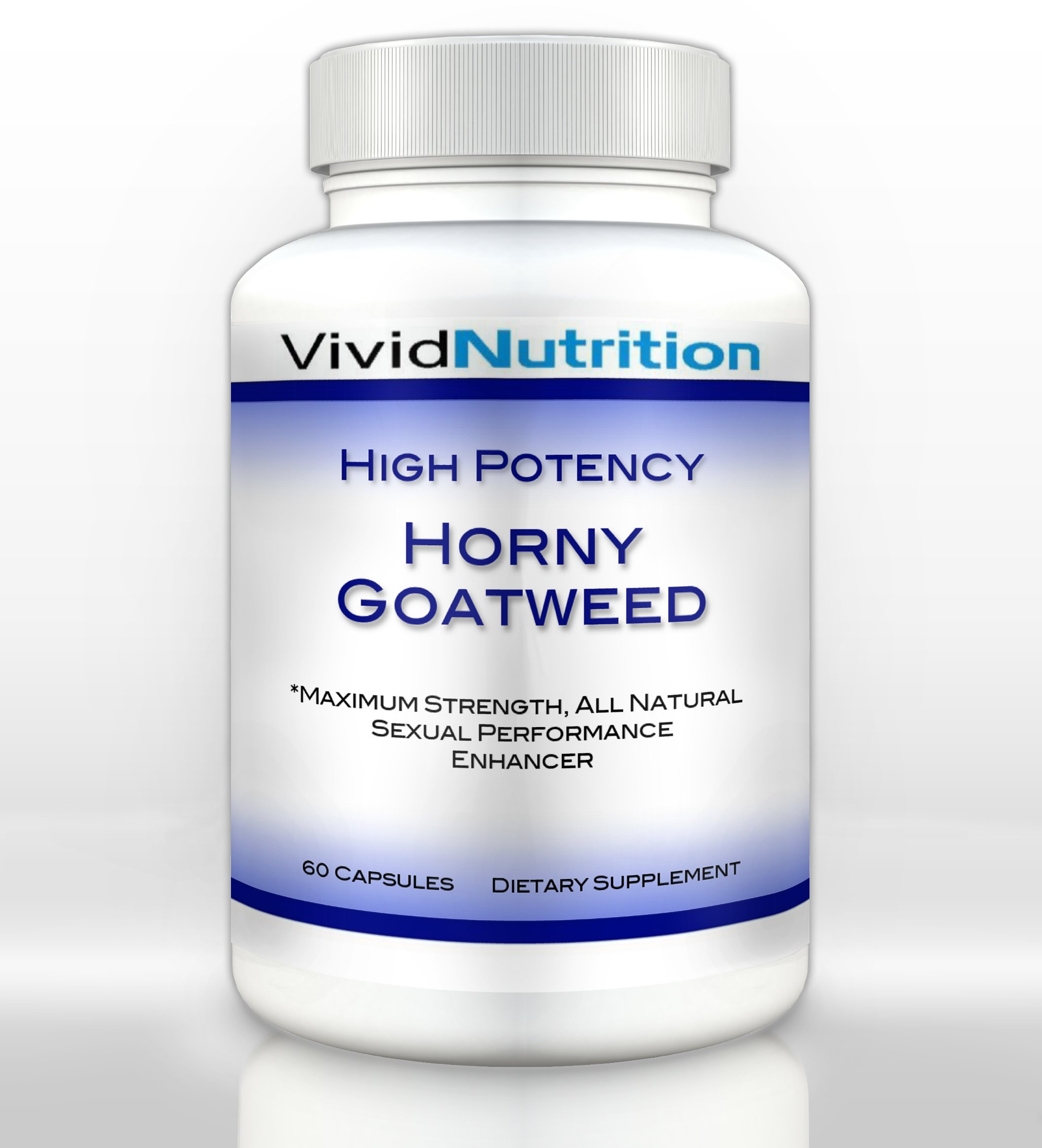 High Potency Horny Goat Weed from Vivid Health Nutrition - 60 capsules (1 Bottle)