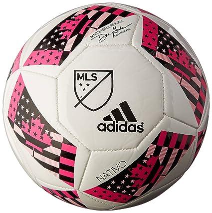 adidas MLS Glider - Balón de fútbol, Blanco/Rojo/Azul: Amazon.es ...