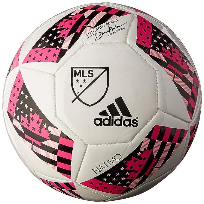 adidas MLS Glider - Balón de fútbol - B00U60HL6U, Blanco/Rojo/Azul ...