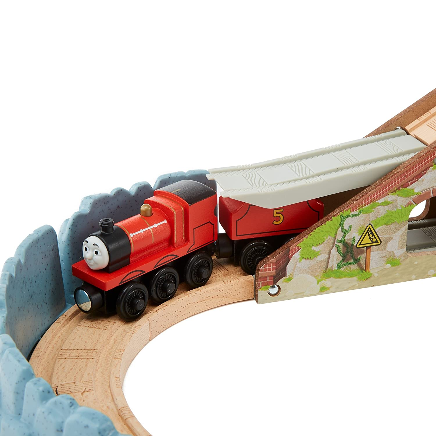 f18bccf71d38 Fisher-Price Thomas & Friends Wooden Railway Speedy Surprise Drop Set, Train  Sets - Amazon Canada