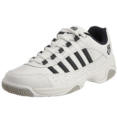 K-Swiss OUTSHINE EU~WHITE/NAVY~M 01120-109-M - Zapatillas de tenis ...