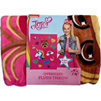 Jay Franco Oversized Plush Throw Blanket 59 in x 78 in (JoJo, 59in x 78 in)