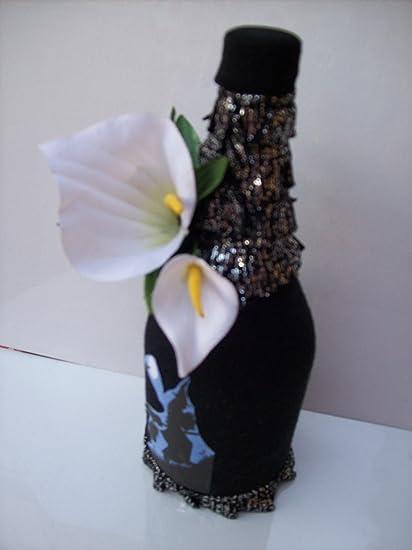 Botella de cristal de bruja Hoodoo Voodoo Haití Art La Befana Craft botella de cristal Brujería