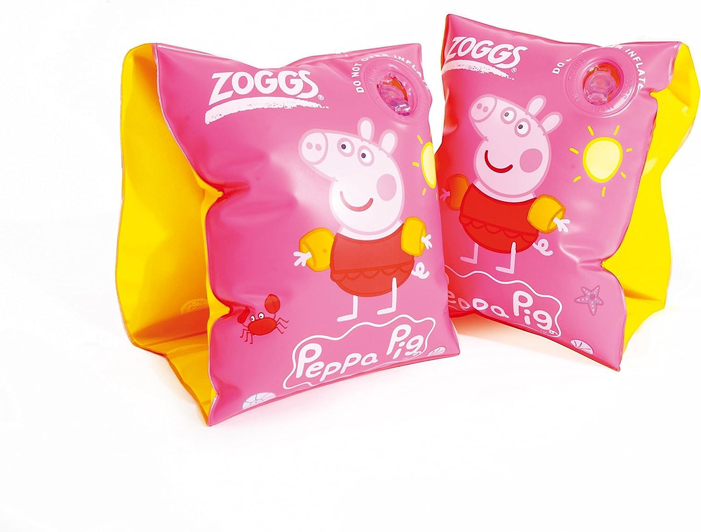 Zoggs Manguitos Peppa Pig para niña, Color Rosa.: Amazon.es ...